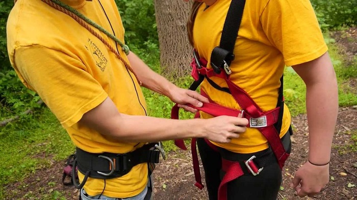 Safety Harness out of a Rope